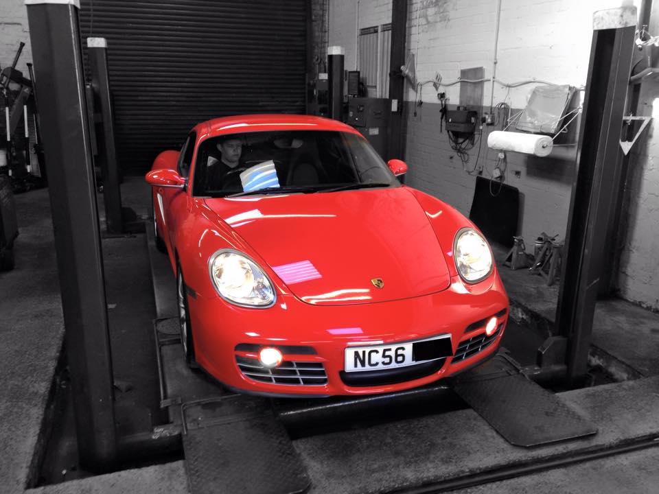 Porsche Bury